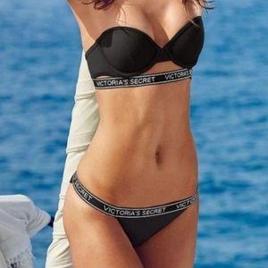 Victoria Secret Cheeky Logo Band Bikini Bottom